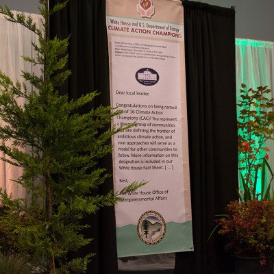 Climate Action Champions event Sapphire Palace scene - Blue Lake Casino & Hotel